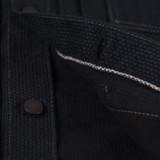 Pure Blue Japan Double Black Sashiko Type II Jacket