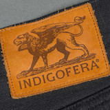 Indigofera Buck Gunpowder Selvedge Relaxed Tapered Jeans