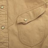 Stevenson Overall Trigger Linen Twill Shirt - Khaki