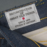 Studio D'Artisan SP-031 40th Anniversary Relaxed Tapered Jeans