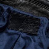 "Nine Lives ""Más o Menos"" Steerhide Leather Jacket"
