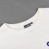 Studio D'Artisan Printed Loopwheeled T Shirt - White