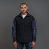 FDMTL Reflective Coach Jacket - Navy