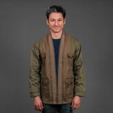 FDMTL Military Haori Jacket - Khaki