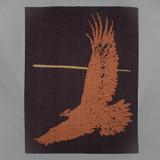 Indigofera 100% Wool Blanket - Eagle - Orange