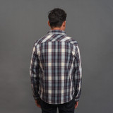 UES Heavy Selvedge Flannel - Navy
