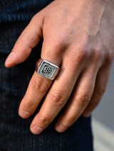 Good Art Sterling Silver Flipity Dipity Ring - Medium