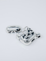 Good Art Sterling Silver Fancy Pods Rosette Noodle