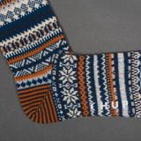 Chup Socks - Mjosa - Pigeon Blue