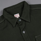 Momotaro Heavy Kersey Shirt - Green