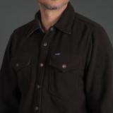 Iron Heart IHSH-287 Micro Fleece CPO Shirt - Black