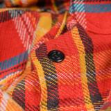 Studio D'Artisan Heavy Flannel Work Shirt - Red