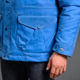 Manifattura Ceccarelli Fisherman Parka - Mid Blue