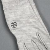 Handson Grip Merino Wool Hobo Glove - Light Grey