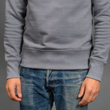 Merz b. Schwanen 346 Heavyweight Crew Neck Sweater – Storm
