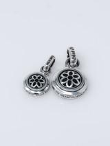 Good Art Sterling Silver Rosette Lotus Pendant