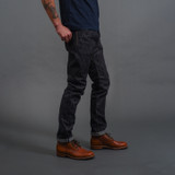 Pure Blue Japan EX-019 Extra Slub Relaxed Tapered Jeans