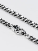 Good Art Sterling Silver Curb Chain #4 Necklace