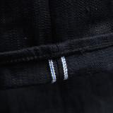 Pure Blue Japan EX-013-BB Double Black Extra Slub Jeans - Slim Tapered
