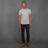 Pure Blue Japan EX-019-BB Double Black Extra Slub Jeans - Relaxed Tapered