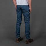 Pure Blue Japan GRE-013 12 oz Green Cast Jeans - Slim Tapered