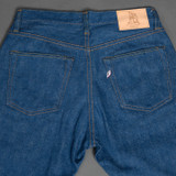 Pure Blue Japan GRE-019 12oz Green Cast Jeans - Relaxed Tapered