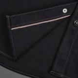 Iron Heart IHSH-295 14oz Selvedge Denim Western Shirt - Indigo/Black