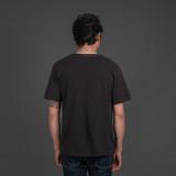 Merz b. Schwanen 214PK Piqué T Shirt - Charcoal