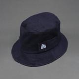 Merz b. Schwanen French Terry Cloth Bucket Hat - Deep Blue