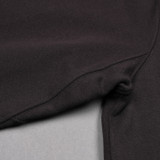Merz b. Schwanen 343Z Heavyweight Half Zip Sweater - Deep Black