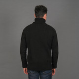 Merz b. Schwanen Cashmere Merino Turtle Neck Sweater - Deep Black