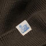 Merz b. Schwanen Italian Merino Wool Beanie - Army