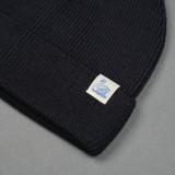 Merz b. Schwanen Italian Merino Wool Beanie - Dark Navy