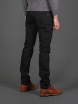 IH-555S-SBG Super Slim Selvedge Jeans - Superblack