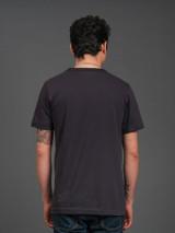 Merz b. Schwanen 2 Thread 214 Heavyweight Organic T Shirt- Charcoal
