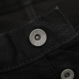 Iron Heart 21oz Superblack Selvedge Jeans IH-888S-SBG - Relaxed Tapered