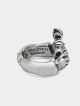 Good Art Sterling Silver Claddagh Ring - Small