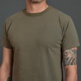 3sixteen Heavyweight Garment Dyed T Shirt - Military Green