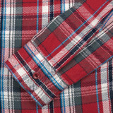 UES Heavy Selvedge Flannel - Red Small Check