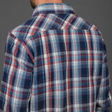 UES Heavy Selvedge Flannel - Navy Small Check