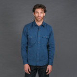 Indigofera Alamo Shirt - Poseidon
