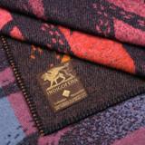 Indigofera 100% Wool Blanket - Trees