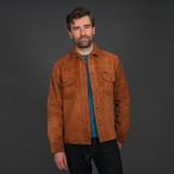 Indigofera Roughout Copeland Shirt - Cognac