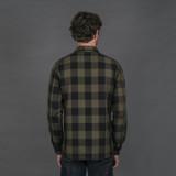 Rogue Territory BM Shirt - Olive Buffalo Plaid
