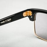 Effector Delay 3 Black Sunglasses - Pale Grey