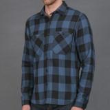 Rogue Territory BM Shirt - Teal Buffalo Plaid