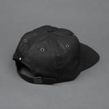 3sixteen Waxed Canvas Baseball Cap - Black