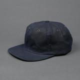 3sixteen Waxed Canvas Baseball Cap - Navy