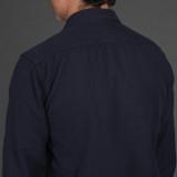 Momotaro 05-296 Dobby Shirt - Navy