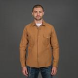 Rogue Territory Service Shirt - Copper Selvedge Canvas